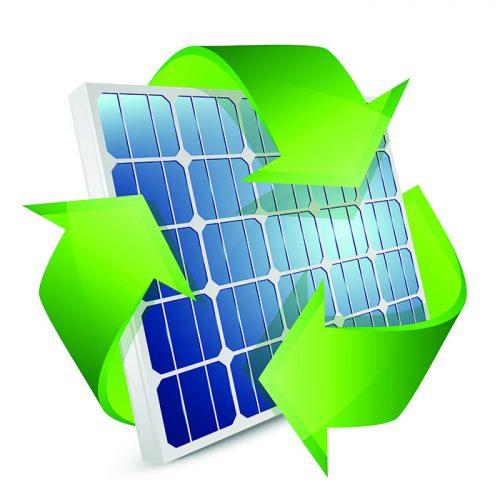 Reciklaža odsluženih fotonapetostnih modulov je za kupce Energije plus brezplačna.